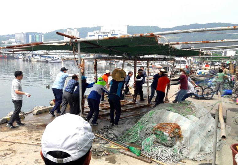 1. 청정 해양도시 경주, 어항 일제 환경정비 (3)
