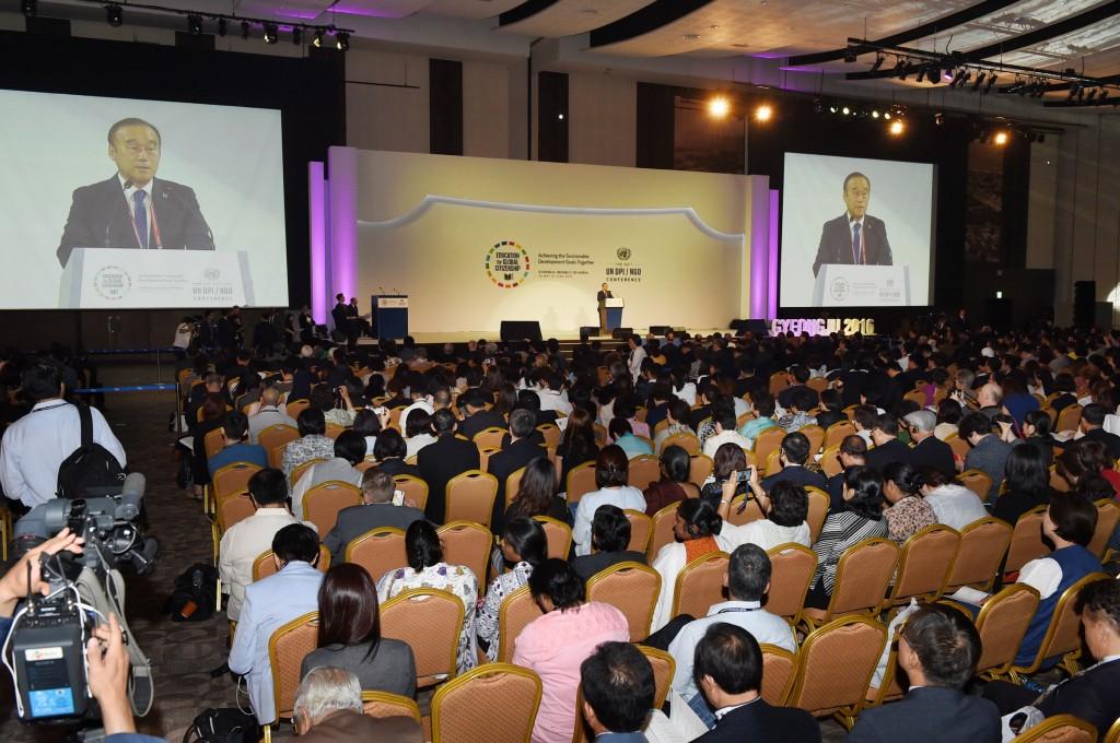 UN DPI NGO 컨퍼런스 2016 (2)