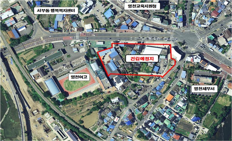 영천시, 서부동 낙후지역에 공공주택 140세대 건립예정(사업대상지 영천시 성내동 334번지 일원)