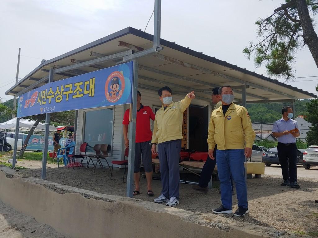 1. 이영석 부시장, 성수기 해수욕장 운영상황 현장 점검 (1)